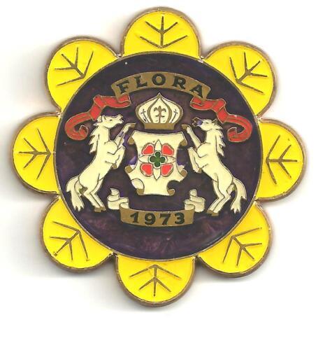 (pgasteelers1) LA.New Orleans 1973 Mardi Gras Medal Flora Goddess flora - medal
