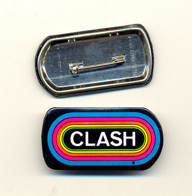 THE CLASH KLOS 95.5 Promo Vintage Button Pin Pinback Badge NEW Original!!!