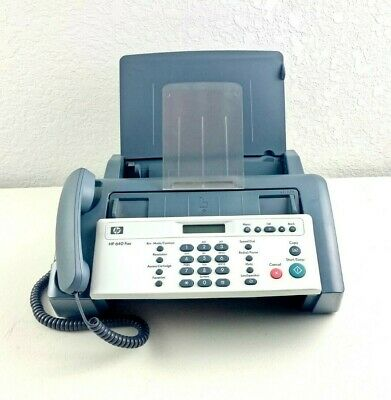 Hp 640 Inkjet Plain Paper Speed Up To 6 Seconds Per Page Tested Working