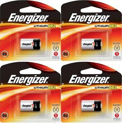 4 (4x1) Energizer CR2 EL1CR2BP 3V Lithium Photo Batteries El1cr2bp Lithium Photo Battery