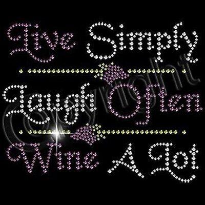 WOMEN'S TEE PARTY RHINESTONE SM - 3XL WINE DIVA PRINCESS SHORT OR LONG SLEEVE (Diva Long Sleeve Tee)