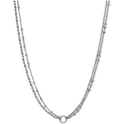 Gorjana Paso 4 Strand Versatile Necklace In Silver 1810106S