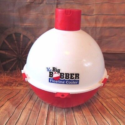 The Big Bobber Floating Drink Insulated Cooler Holds Up To 12 Canned Drinks