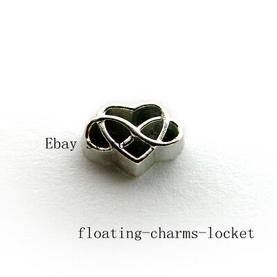 (10pcs Endless Love Floating Charms for Memory Locket Free Shipping FC1400)