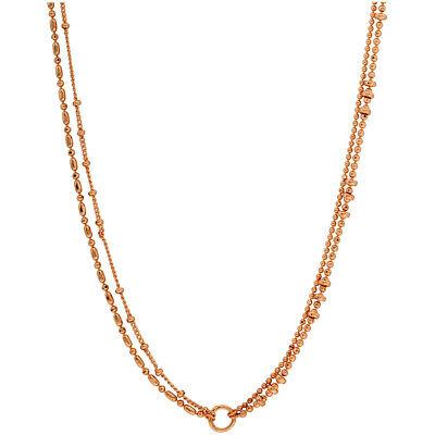 Gorjana Paso 4 Strand Versatile Necklace In Rose Gold 1810106R