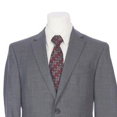 Lauren Ralph Lauren Gray Wool 2 Button Sport Coat Jacket Mens 40R 40 Regular
