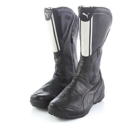Puma Ducati Shifter High Black Motorcyle Riding Racing Boots Mens 10