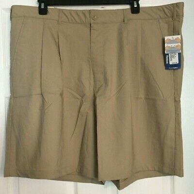 Reebok Golf Big & Tall Khaki Play Dry Shorts Size 50 54 56  or 58 -