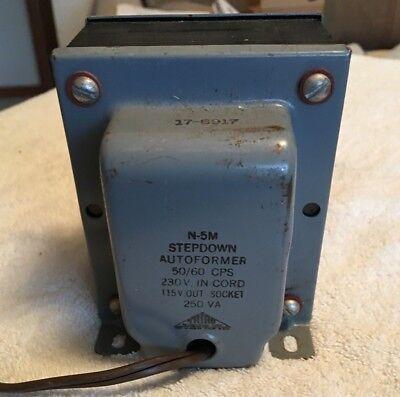 Used Magnetek Triad N-5 M Step Down Autoformer 230v-115v