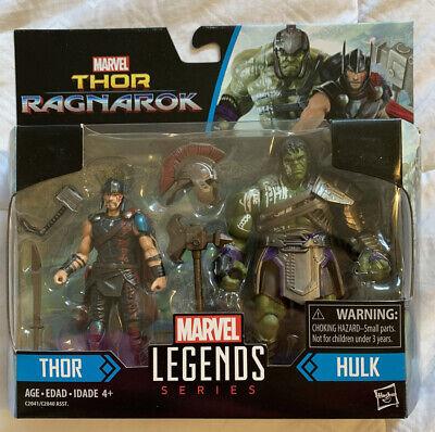 "Marvel Legends 3.75"" Action Figure 2-Pack Thor Ragnarok w/ GLADIATOR HULK Hasbro"