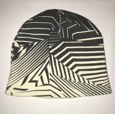 Black & White Reversible Hat Beanie
