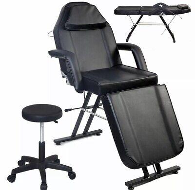 New Adjustable Portable Medical Dental Chair Wstool Combination Black