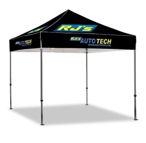 Tent , teardrop flags and T shirts with wholesale pricing