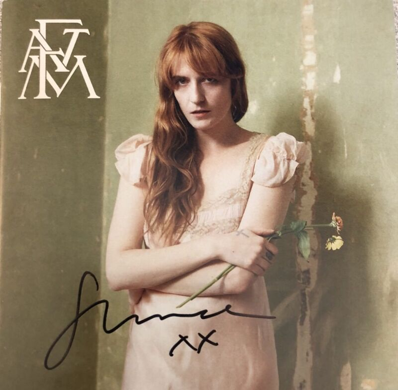 AUTOGRAPHED SIGNED FLORENCE AND THE MACHINE High As Hope New Sealed CD BECKETT