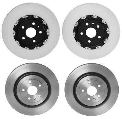 Brembo Front Rear Brake Disc Rotors Kit for Cadillac CTS V Chevy Camaro ZL1 6.2L (Brembo Rear Brake Disc)