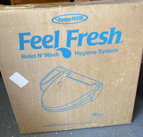 HomeTech Feel Fresh HI-7000 White Bidet Washing Toilet Seat