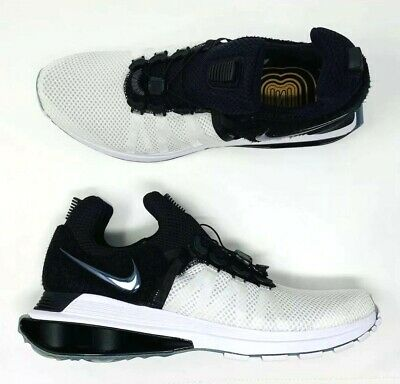 new styles f2761 4626c Nike Shox Gravity White Black