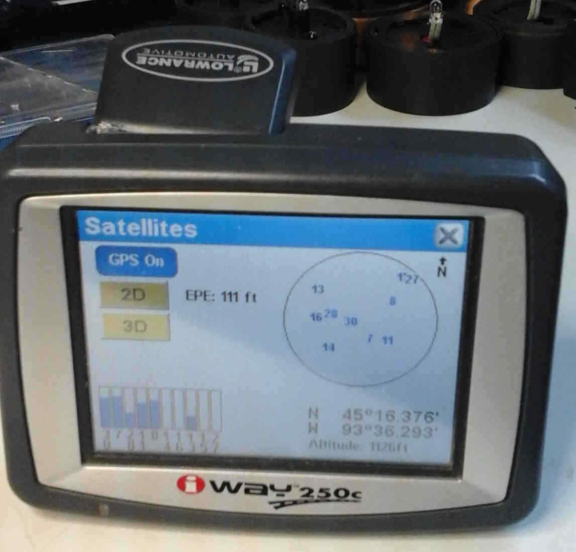 Lowrance iWay 250C 3.5-Inch Portable GPS