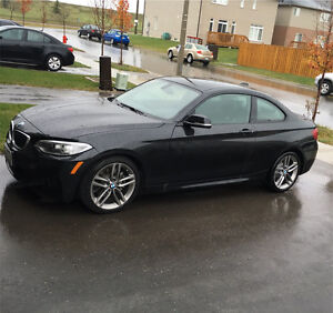2016 BMW 228i black sapphire 6 speed manual lease take over