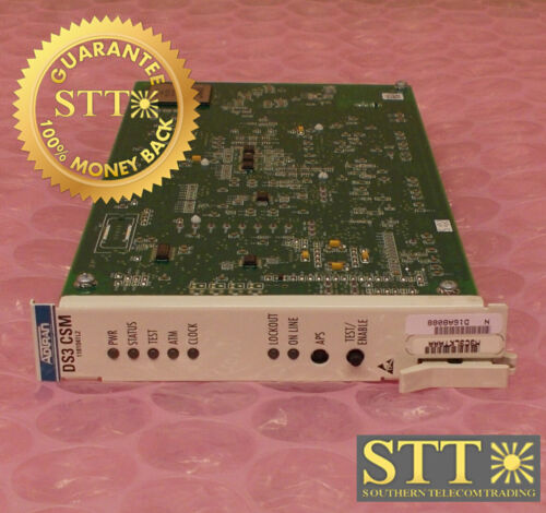 1181041l2 Adtran Ta3000 Cell Switch Module Ds3 Csm M3c3lktaaa