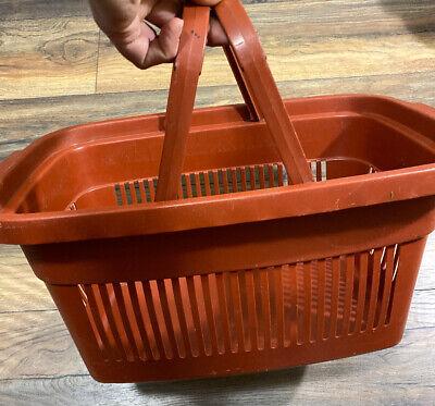 Plastic Grocery Store Market Shopping Basket Eco Environmentally Friendly