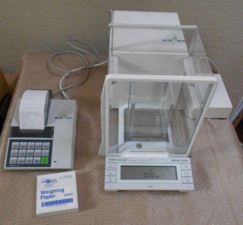 Mettler Toledo Professional Semi-micro At261 Balance Scale Inner Shield Printer