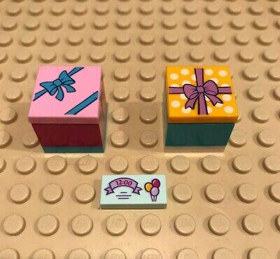 Lego Gift Present Party Invitation Tiles Disney Friends Castle City Set Bulk Lot