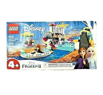 Lego Disney Frozen 2 Anna's Canoe Expedition 41165 - NEW Sealed 108pcs Olaf