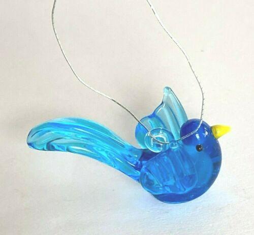 Ganz Glass Miniature Mini Figurine Ornament BLUEBIRD