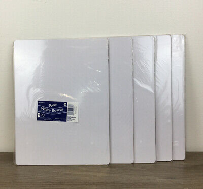 Brand New Lot Of 5 Pacon White Dry-erase Baords One Sided 9x12 Free Shipping.