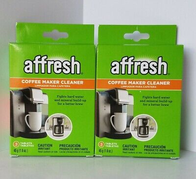 Affresh Coffee Maker Cleaner for Multi-Cup/Single Serve 3 Tabs in a Box Lot of 2