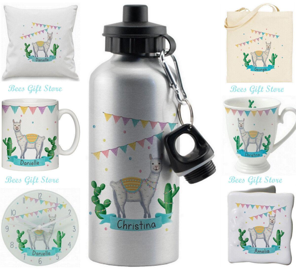 PERSONALISED LLAMA FIESTA  Gifts For Birthday Girls Boys Eas