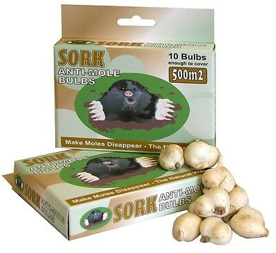 Sork Mole Moles Repellent Deterrent Bulbs Rodent Repeller Defense Pest Control