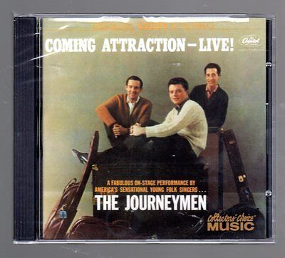 Coming Attraction: Live [bonus Tracks] By Journeymen (cd) Collectors Choice