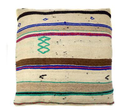 Подушка Antique tribal Moroccan wool blanket