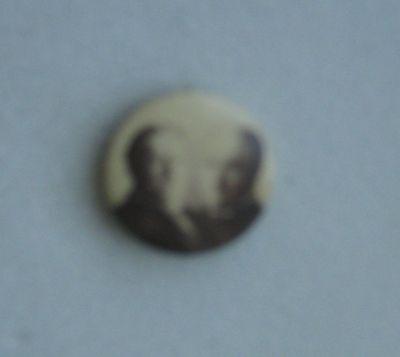 "VINTAGE William H. Taft & Sherman 7/8"" jugate button EXCELLENT pinback PICTURE"