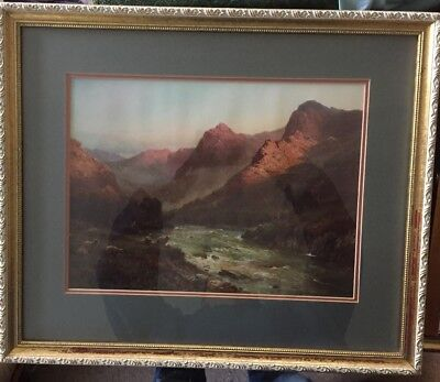 """Alfred De Breanski Print In Worn Ornate Frame 23"""" X 19.5"""" for sale  Shipping to South Africa"""