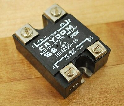 Crydom Hd4850 Solid State Relay Hd485010 - Used