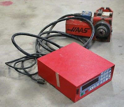 Haas Servo Control With Rotary Table - Used