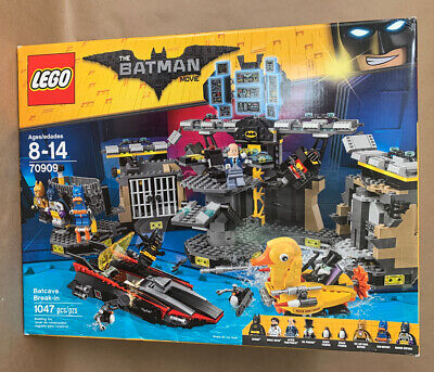LEGO - 70909 Batcave Break-in (2017) - The Batman Movie  - NEW & SEALED