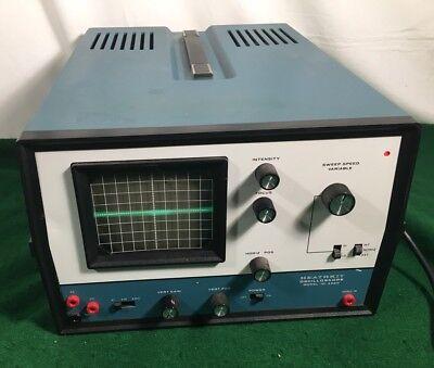 Vtg Heathkit Oscilloscope Io-4560 Blue Case Not Tested