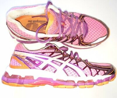 Womens size 6.5 Asics Gel Kayano 20 Pink Purple Running Shoes