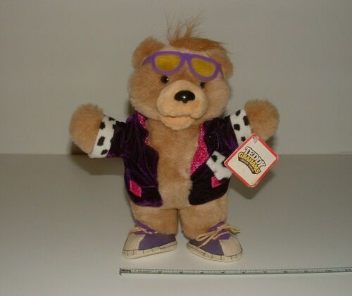 Nabisco Brands - Teddy Grahams Bear Plush, 1990, Applause, pre-owned (With Tags)