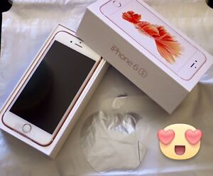 Unlocked iPhone 6s 64 gb rose gold Belmore Canterbury Area Preview