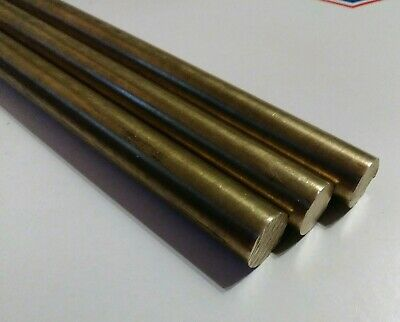 3 Pc C360 Brass .5 Round Rod Stock 8 Long Lathe Machinist New Solid Bar 12