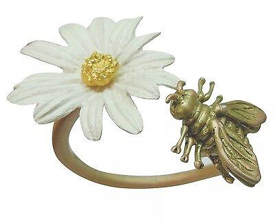 Daisy & Bee Napkin Rings by Michael Michaud #NR9481AB