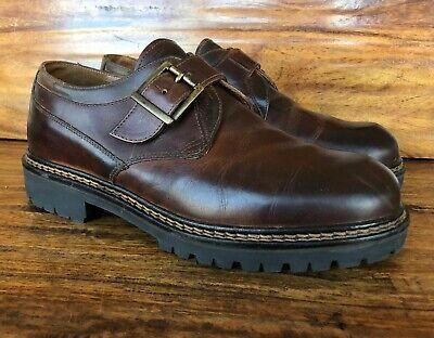 Men's Johnston & Murphy Monk Strap Shoes Size 10 M