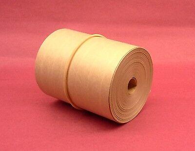 1-roll 3.00 X 50 Gummed Reinforced Paper Tape. Kraft Shipping Packaging