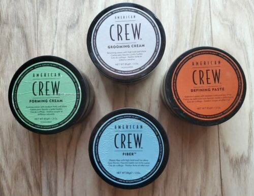 American Crew Pomade 3oz JARS ARE FINGER SWIPED/! $1.75 each