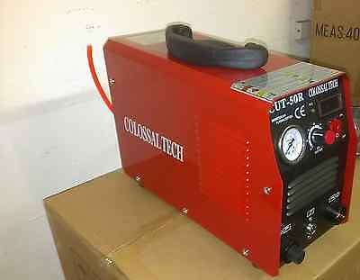 Plasma Cutter 50amp New Cut50r Digital Inverter 220v Colossal Tech 2018 Model